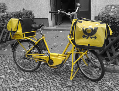 Berlin postal bicycle